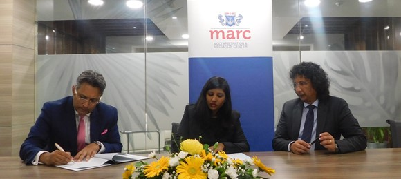 MARC and MBA signs an MOU