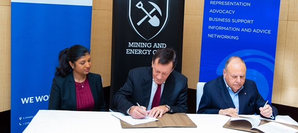 Signature of MoU between MEC, MCCI and MARC