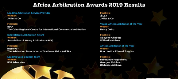 African Arbitration Awards - 1st edition