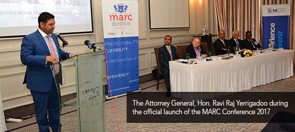 "MARC conference 2017 on ""Efficiency in Arbitration Proceedings"""
