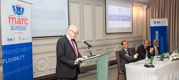 MARC Welcomes Lord Neuberger for a Seminar on 'Ethics in International Arbitration'