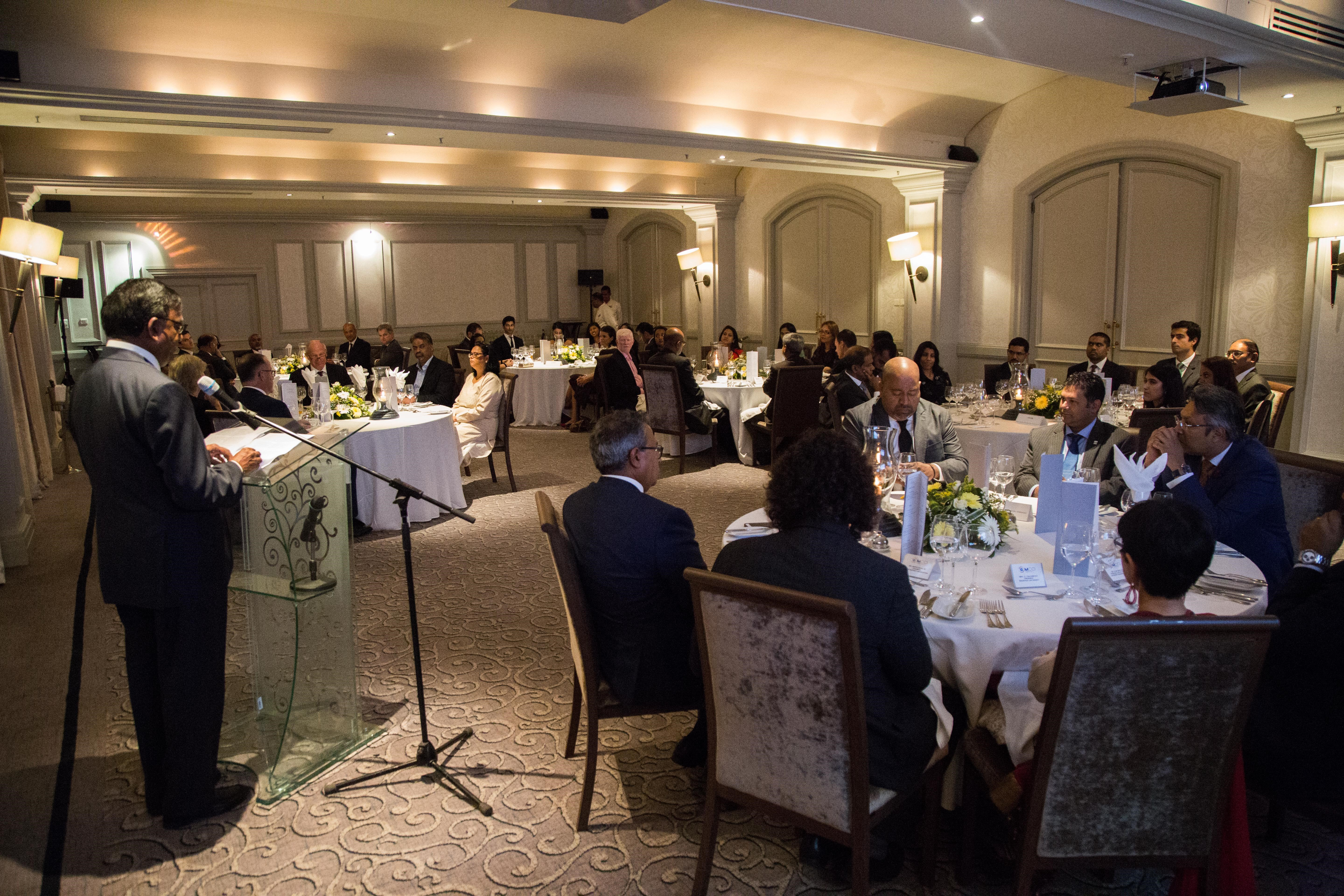 Gala Dinner held in honor of Lord Neuberger's visit to Mauritius